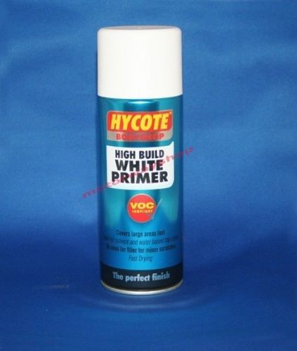 High Build White Primer Bodyshop Quality Hycote 400ml